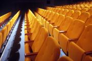 theatre seating manufacturer yellow upholstery