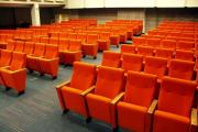 Cinema seats manufacturer - orange upholstery